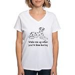 Wake Me Up Women's V-Neck T-Shirt