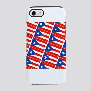 Puerto Rican Flag Boricua Paht iPhone 7 Tough Case