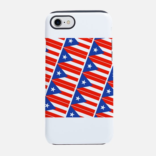 Puerto Rican Flag Boricua Paht iPhone 7 Tough Case