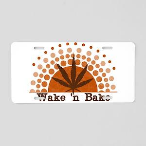 Riyah-Li Designs Wake 'n Bake Aluminum License Pla