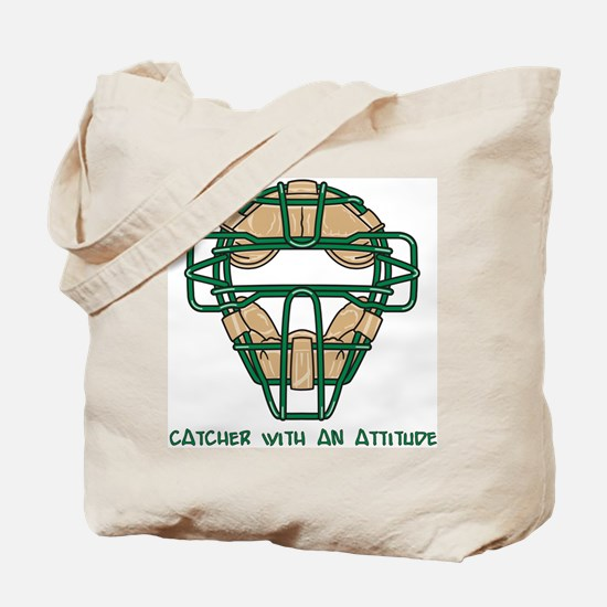 Catcher with an Attitude Tote Bag