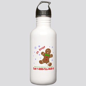 1-800-I'LL-SUE-U Stainless Water Bottle 1.0L