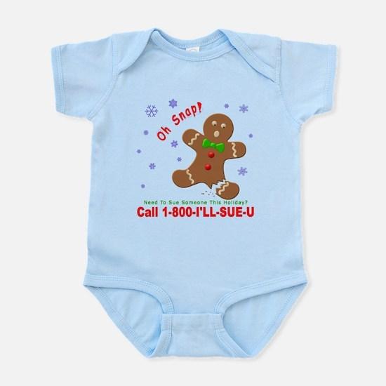 1-800-I'LL-SUE-U Infant Bodysuit