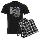 Conductor Men's Dark Pajamas