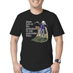 Conductor Men's Fitted T-Shirt (dark)