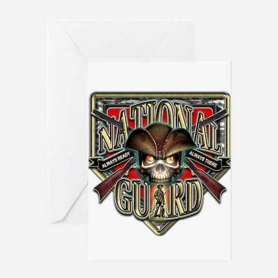 US Army National Guard Shield Greeting Card
