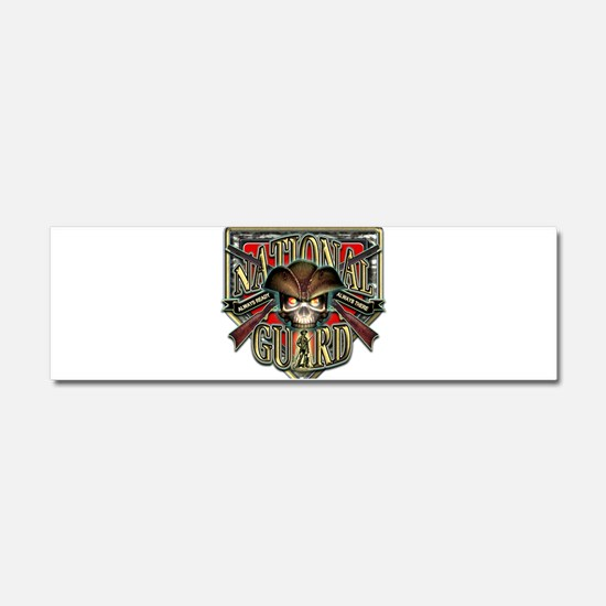 US Army National Guard Shield Car Magnet 10 x 3