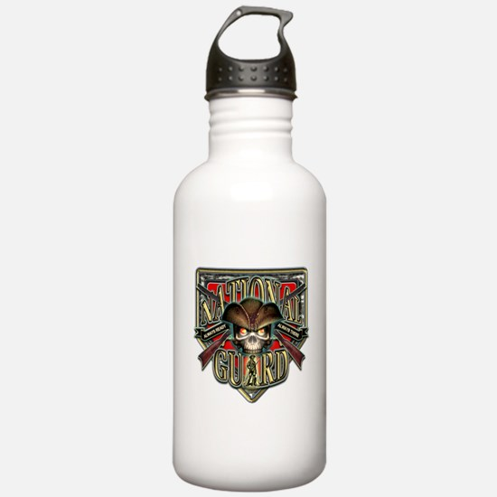 US Army National Guard Shield Water Bottle