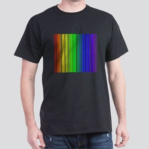 Rainbow Barcode Dark T-Shirt