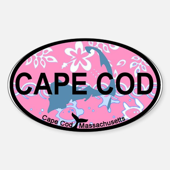 Cape Cod MA - Oval Design Sticker (Oval)