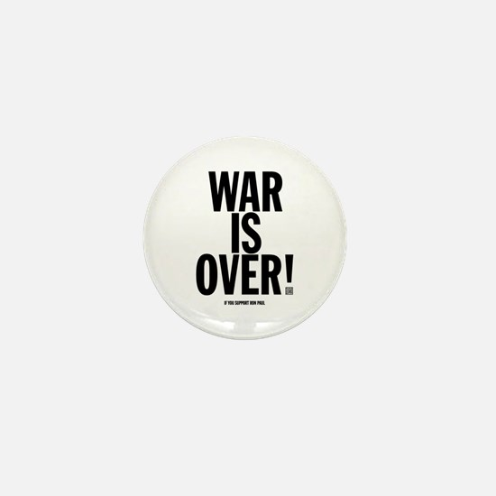War Is Over! Mini Button