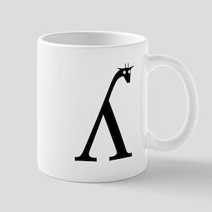 Palatal Lateral Approximant Giraffe Mug