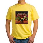 Horror night Yellow T-Shirt
