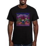 Horror night Men's Fitted T-Shirt (dark)