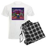 Horror night Men's Light Pajamas