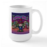 Horror night Large Mug