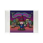 Horror night Rectangle Magnet (100 pack)