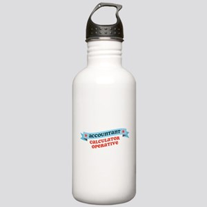 Calculator Operative Stainless Water Bottle 1.0L