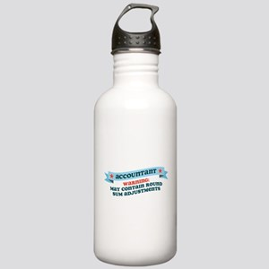 Round Sum Adjustments Stainless Water Bottle 1.0L