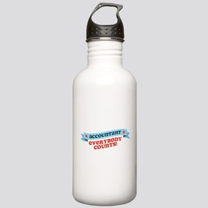 Everybody Counts Stainless Water Bottle 1.0L