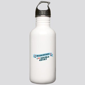 I Heart Double Entry Stainless Water Bottle 1.0L