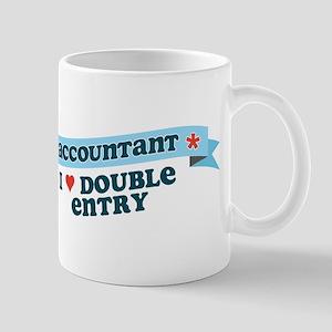 I Heart Double Entry Mug