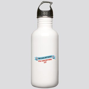 I'm Counting It Stainless Water Bottle 1.0L