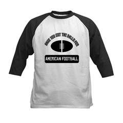Got the balls for American fo Kids Baseball Jersey