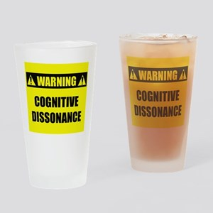 WARNING: Cognitive Dissonance Drinking Glass