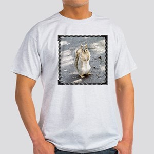 Squirrel Ash Grey T-Shirt