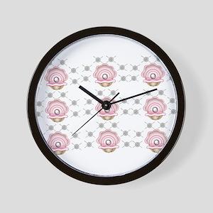 pearl pattern Wall Clock