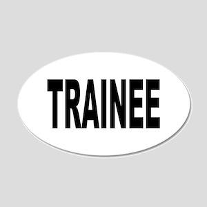 Trainee 22x14 Oval Wall Peel