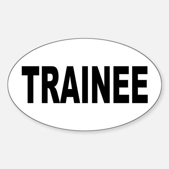 Trainee Sticker (Oval)