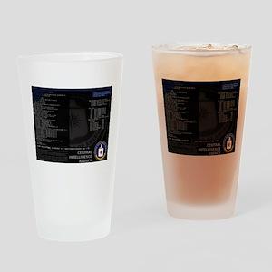 cia unix Drinking Glass