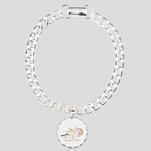 Grandma To Be (SP) Charm Bracelet, One Charm