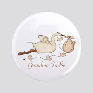 """Grandma To Be (SP) 3.5"""" Button"""