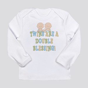Double Blessing Twins Long Sleeve Infant T-Shirt