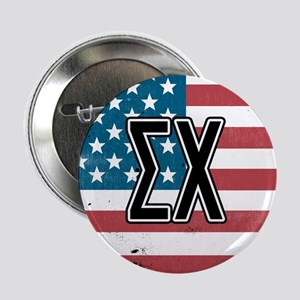 """Sigma Chi Flag 2.25"""" Button (10 pack)"""