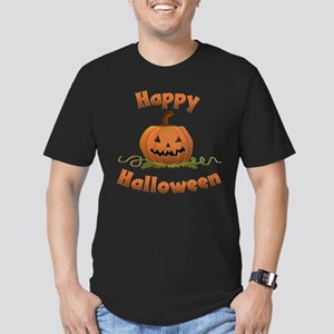 Halloween Men's Fitted T-Shirt (dark)