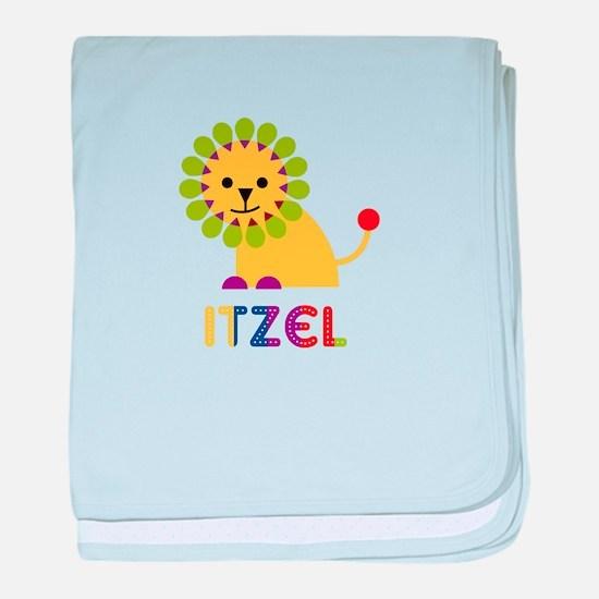 Itzel the Lion baby blanket