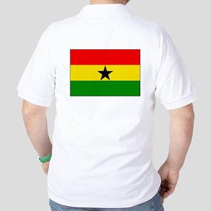 Flag of Ghana Golf Shirt