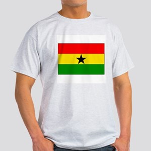 Flag of Ghana Ash Grey T-Shirt