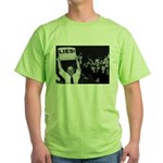 Lies -- Yeah! Green T-Shirt
