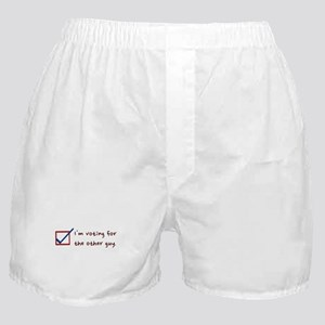 I'm voting for The Other Guy - Boxer Shorts