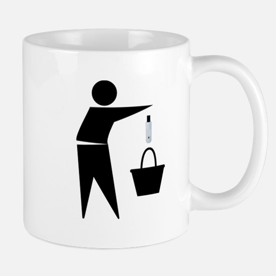 Put the Lotion in the Basket Mug
