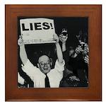 Lies -- Yeah! Framed Tile