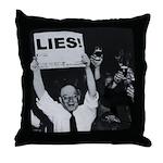 Lies -- Yeah! Throw Pillow