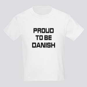 Proud to be Danish Kids T-Shirt