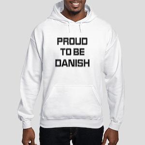 Proud to be Danish Hooded Sweatshirt