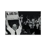 Lies -- Yeah! Rectangle Magnet (100 pack)